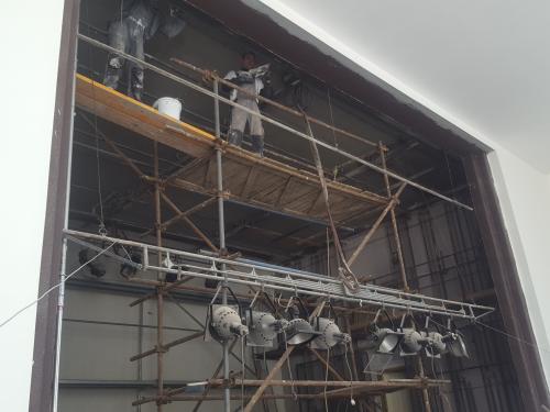 Kinosála - rekonštrukcia