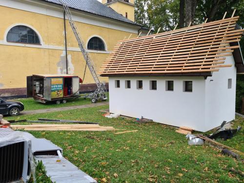Kostol - oprava