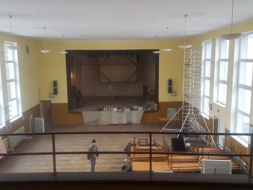 Kinosála rekonštrukcia