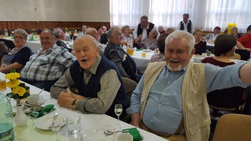 Posedenie dôchodcov 2017