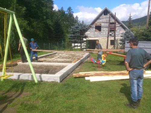 Budovanie detského ihriska