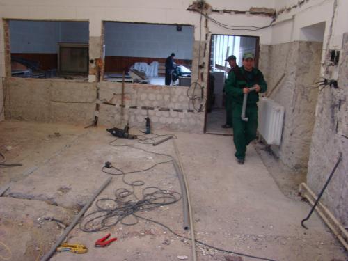 Rekonštrukcia obecnej kuchyne