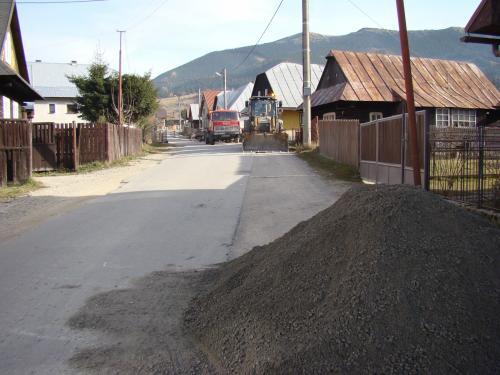 Výstavba kanalizácie 2010-2012